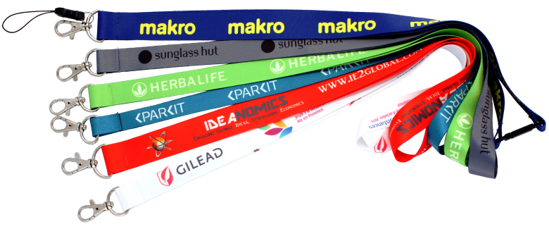 Lanyards sublimation