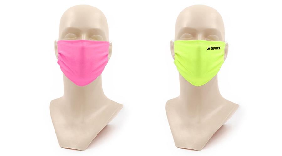 Masque de protection personnalisé couleur